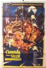 "Argentinean Ewok Adventures Style ""B"" Caravan of Courage One-Sheet"