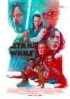 Australian The Last Jedi Star Walking One Sheet / A1 Size