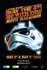 "Australian Star Wars Day Version ""Characters"" Stormtrooper Movie Marathon One-Sheet"