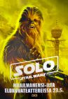 """Finnish Solo Version """"Characters"""" Chewbacca Bus Stop"""