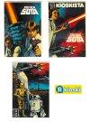 "Finnish Star Wars Style ""C"" Promotional R-kioski Stickers"