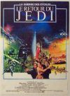 "French Return of the Jedi Style ""A"" Foreign Mini-Affiche"