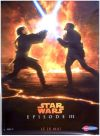 "French Revenge of the Sith Version ""Characters"" Lava Grande-Affiche"