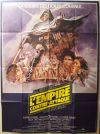 "French Empire Strikes Back Style ""B"" Grande-Affiche"