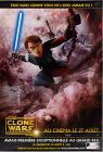 """French The Clone Wars Version """"Animated Action"""" Anakin / Fortress Wall Grande-Affiche"""