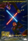 """French The Clone Wars Version """"Animated Action"""" Anakin vs. Dooku Grande-Affiche"""