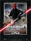 "French The Phantom Menace Version ""A"" 3D Grande-Affiche"