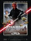 "French The Phantom Menace Version ""A"" 3D Mini-Affiche"