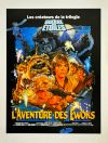 "French Ewok Adventure Style ""B"" Caravan of Courage Press Flyer"