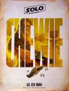 French Solo Advance 2nd Version Chewbacca Grande-Affiche