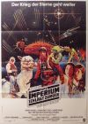 "German Empire Strikes Back Style ""A"" Foreign '82 CBS / Fox Video One-Sheet / A1 size"