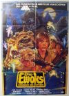 "German Ewok Adventure Style ""B"" Caravan of Courage One-Sheet / A1 Size"