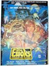 "German Ewok Adventure Style ""B"" Caravan of Courage CBS / Fox Video One-Sheet / A1 Size"
