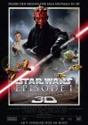 "German The Phantom Menace Version ""A"" 3D One-Sheet / A1 Size"