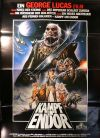 "German Ewok Adventure Style ""A"" Foreign MGM Battle for Endor One-Sheet / A1 Size"