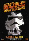 """German Star Wars Day Version """"Characters"""" Stormtrooper Movie Marathon One-Sheet / A1 Size"""