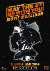"""German Star Wars Day Version """"Characters"""" Vader Movie Marathon One-Sheet / A1 Size"""