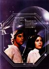 "German Star Wars Style ""Deko"" Luke and Leia One-Sheet / A2 Size"