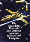 "German Star Wars Style ""Deko"" X-Wings One-Sheet / A2 Size"