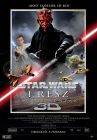 "Hungarian The Phantom Menace Version ""A"" 3-D One-Sheet"
