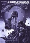 "Hungarian Empire Strikes Back Style ""A"" Foreign Purple Monotone One-Sheet / A2 size"