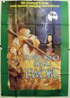 "Italian Ewok Adventure Style ""A"" Foreign Battle for Endor Four-Sheet / Quattro Fogli"