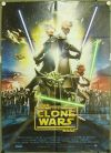 "Italian The Clone Wars Version ""A"" Two-Sheet / Due Fogli"