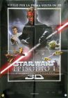 "Italian The Phantom Menace Version ""A"" 3D Two-Sheet / Due Fogli"