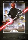 "Japanese The Phantom Menace Version ""A"" 3-D One-Sheet / B1 Size"