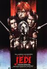 "Polish Return of the Jedi Style ""A"" Foreign One-Sheet / B1 Size"