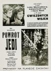 Polish Return of the Jedi '84 Re-release Black Duotone One-Sheet / B1 Size