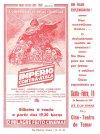 "Portuguese The Empire Strikes Back Style ""B"" Red Monotone Flyer"