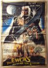 "Ghanaian Ewok Adventure Style ""A"" Foreign Battle for Endor Two-Sheet"