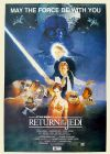 "South African Return of the Jedi Style ""B"" Two-Sheet"