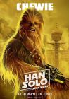 """Spanish Solo Version """"Characters"""" Chewbacca Banner"""