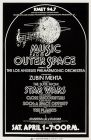 USA Star Wars Music From Outer Space Anaheim Stadium Window Card