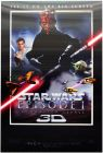 "USA The Phantom Menace Version ""A"" 3-D Lenticular One-Sheet"