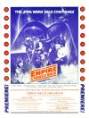 """USA The Empire Strikes Back Style """"A"""" Premiere Poster"""