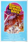 USA Empire Strikes Back '82 Re-release Light Blue One-Sheet
