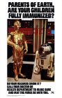 "United States Star Wars Version ""B"" Immunization Poster"