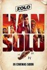 USA Han Solo Advance 2nd Version Crew International One-Sheet #2