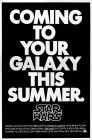USA Star Wars Advance Teaser 1st Version One-Sheet