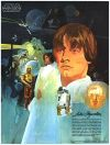 USA Star Wars Coca-Cola Promotional Movie Tie-in Luke Skywalker Poster #1