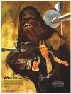 USA Star Wars Coca-Cola Promotional Movie Tie-in Chewbacca Poster #4