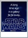 USA Star Wars Advance Mini-Poster #3 (Blank)