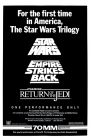 "USA Star Wars ""Continental Theatre"" Triple Bill One-Sheet"