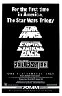 "USA Star Wars ""UA 150 Theatre"" Triple Bill One-Sheet"