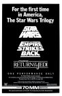 "USA Star Wars ""Warner Theatre"" Triple Bill One-Sheet"