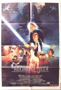 """Argentinean Return of the Jedi Style """"B"""" One-Sheet"""