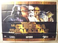"Argentinean Star Wars Special Edition Version ""Advance"" Two-Sheet"